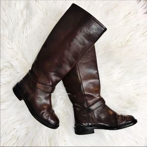 Cole Haan Country · Brown Leather Riding Boots